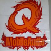 Q MOBILE AUDIO STICKER 2018 (20X20 CM)