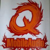 Q MOBILE AUDIO STICKER 2018 (26X27 CM)