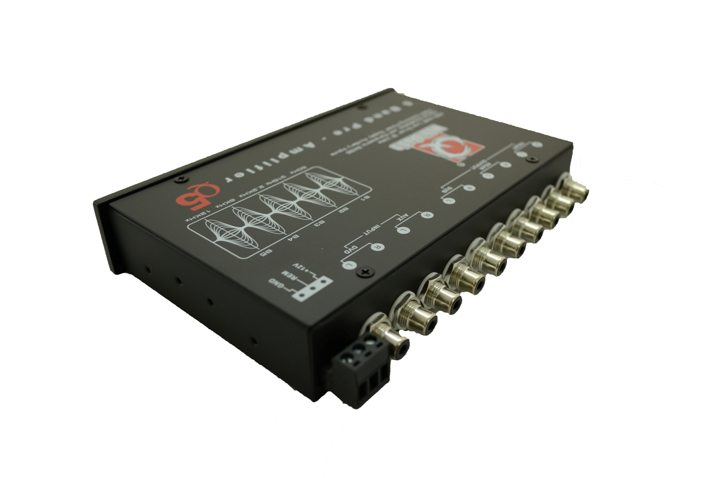 Q Mobile Audio Q5 5-BAND Pre-Amp EQUALIZER